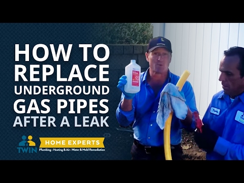 How to Perform Gas Leak Detection & Replace Underground Pipes