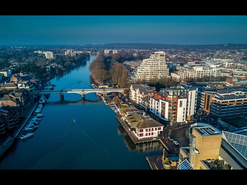 London - Kingston Upon Thames by Drone