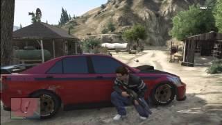 GTA V Gang Attack 39 Grapeseed Weed Farm