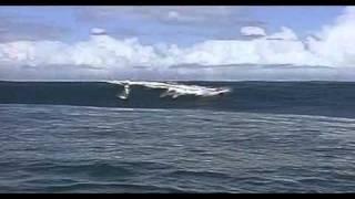 Teahupoo tahiti..  Laird Hamilton the best  big wave rider ever