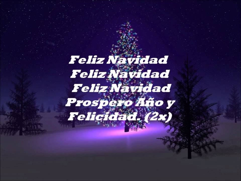 Cancion Feliz Navidad Youtube.Jose Feliciano Feliz Navidad I Wanna Wish You A Merry Christmas Hd