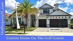 New Custom Model Home Tour | Golf Course Lot | 3,867 sq ft | Davenport / Orlando FL | Providence