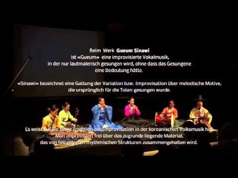 «Kuckuck» von Kim So-Wol - Gueum Sinawi: Traditionelle Improvisation