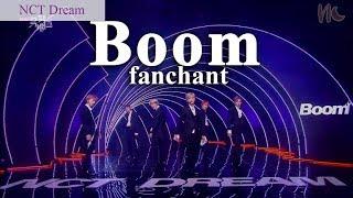 (FANCHANT) NCT Dream - 'Boom' Lyrics Rom/Eng