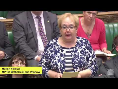 Marion Fellows MP on Scotland's Energy Sector and the EU at Scotland Questions