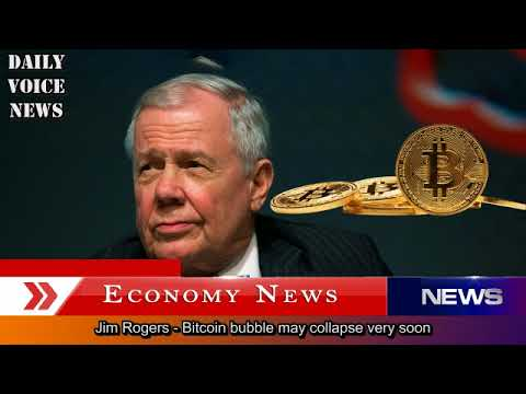 Jim Rogers - Bitcoin bubble may collapse very soon - The end of the story 2018