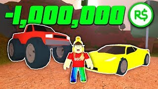 BUYING ALL NEW CARS with ONLY ROBUX .. (Roblox Jailbreak)