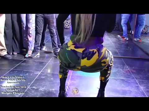 Shan'l La Tchiza au Baron Night Club vip sur Annemasse le Vendredi 02 Nov 2018