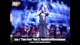 "Jay-Z  ""Tom Ford "" live @ Legends of the Summer UK Wireless Festival 2013"