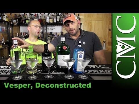 Deconstruction: The Vesper / Five Gin Brands