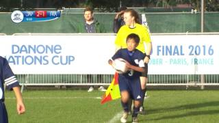 Japan vs France - 1/8 Final - Full Match - Danone Nations Cup 2016