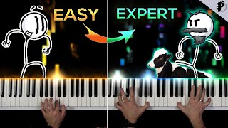 Distraction Dance | EASY to EXPERT BUT...