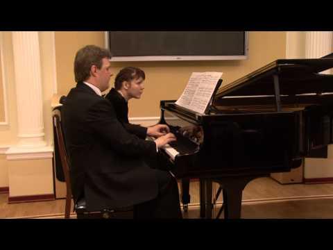 Смотреть онлайн Франц Шуберт. Полонез в четыре руки. Franz Schubert . Polonaise 4 hands
