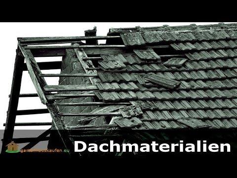 Dach für Gartenhaus - Materialien zum Dach decken   Gartenhauskaufen.eu