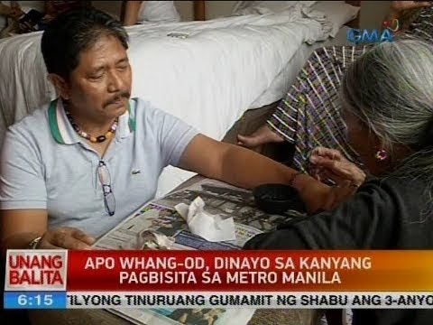 UB: Apo Whang-Od, dinayo sa kanyang pagbisita sa Metro Manila