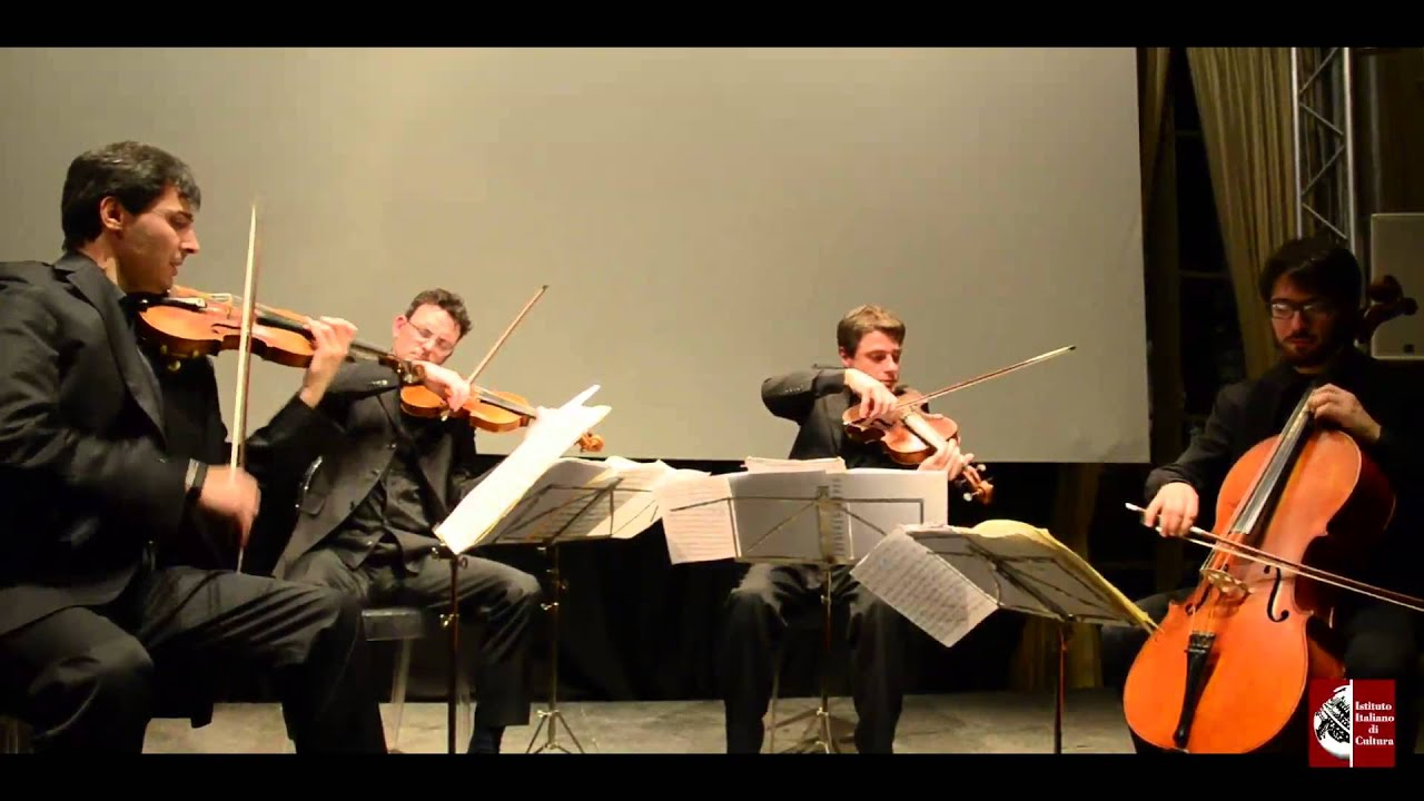 Le quartetto prometeo en concert l 39 institut culturel for Institut culturel italien paris