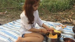 Wow! Beautiful Girl Amazing Cooking | Sexy Girl Amazing Street Food  | Amazing Stree Food
