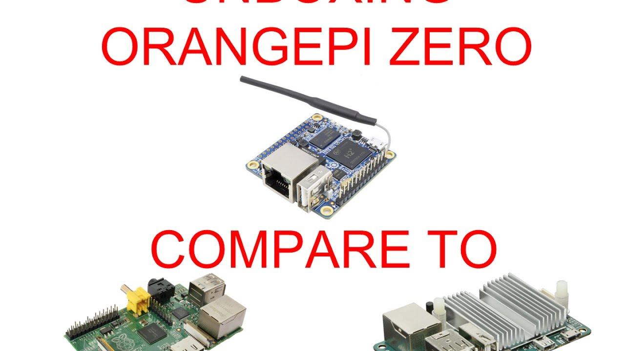 Raspberry pi zero a computer for 5 - Vlog 5 Unboxing Orange Pi Zero Compare To Raspberry Pi Odroid