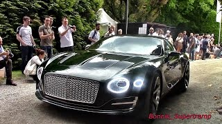 Bentley EXP 10 Speed 6 SOUND - The MOST Beautiful Bentley Ever Made!