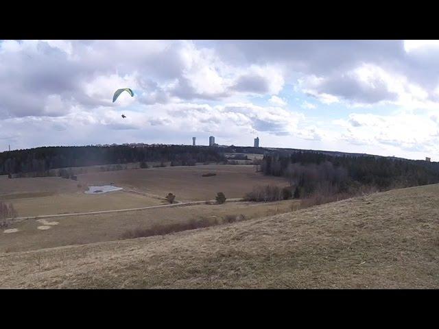 Skärmflyg - Granholmstoppen - 2017-04-17