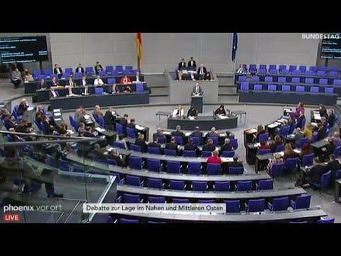 Bundestag: Debatten am 15.01.20