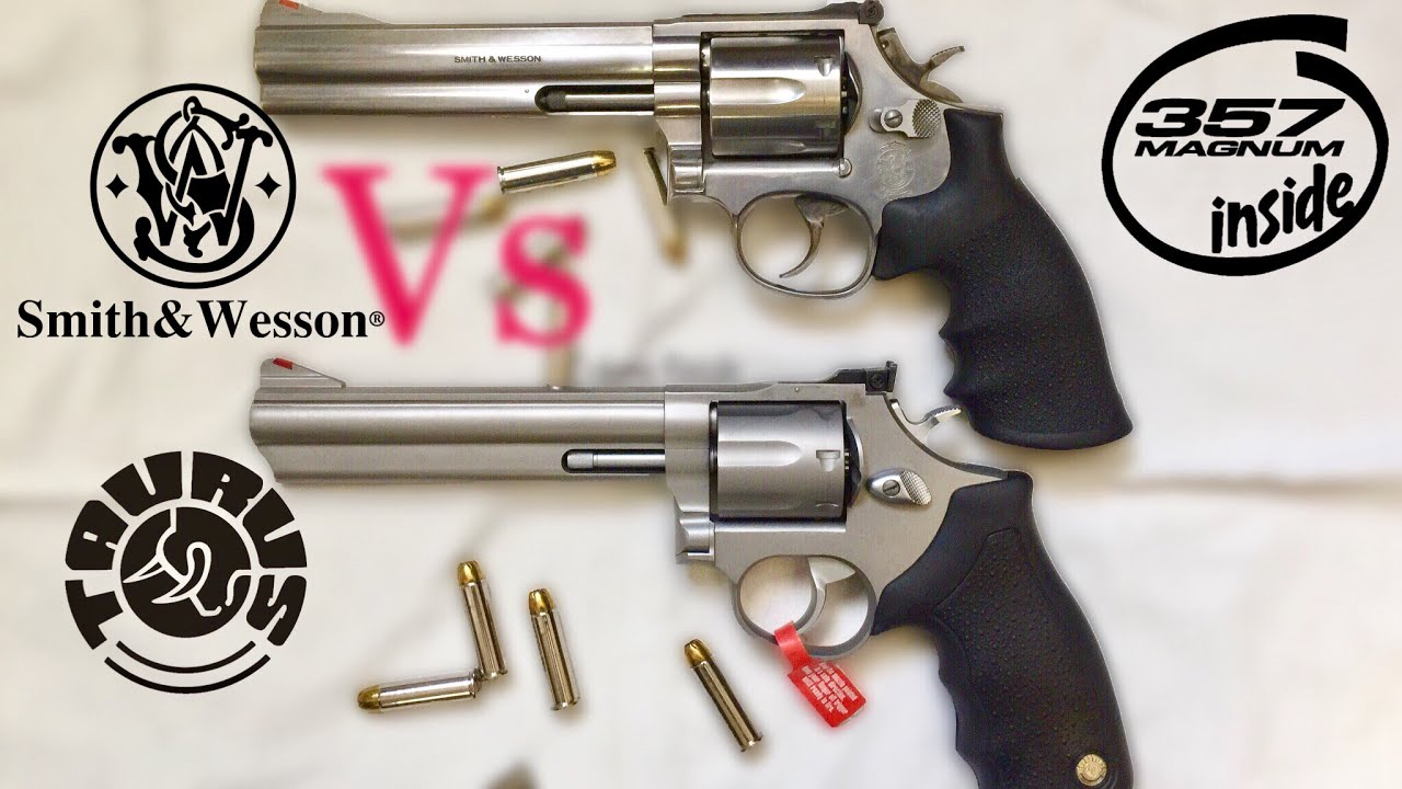 Smith Wesson 686 Vs Taurus 66