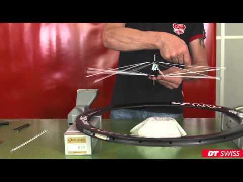 Service Video: DT Swiss DICUT Wheels  Building the Wheel (EN)