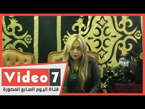 انهيار وبكاء غادة نافع في عزاء والدتها الفنانة ماجدة الصباحي  - 18:00-2020 / 1 / 19