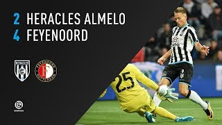 Heracles Almelo - Feyenoord 2-4 | 09-09-2017 | Samenvatting