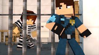 Minecraft : FUGA IMPOSSÍVEL  !! - ( Polícia e Ladrão)