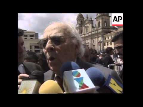 COLOMBIA: REACTION TO PRESIDENT SAMPER'S DRUG CHARGE ACQUITTAL