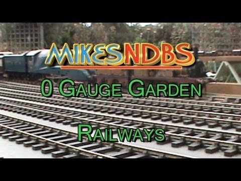 Garden Railways O Scale. Outdoor model trains