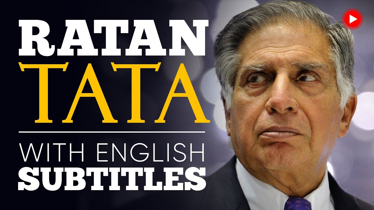 ENGLISH SPEECH | RATAN TATA: India's Car Industry  (English Subtitles)