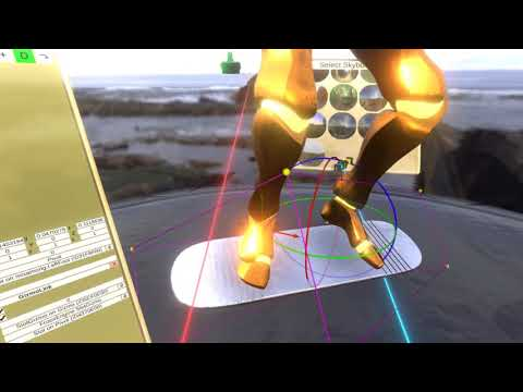 How to add a hoverboard to your avatar in NeosVR