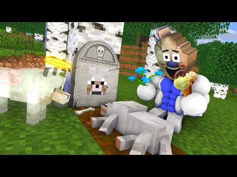 Monster School : ICE SCREAM LIFE CHALLENGE - Minecraft Animation