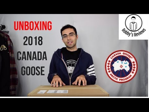 Unboxing A 2018 Canada Goose Chilliwack--What All Comes In The Box?