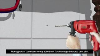 ES2210 Çift Su Girişli Yandan Kumandalı Fotoselli Batarya Kurulumu