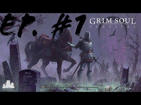 EP.#1:Consiguiendo cositas en isla de tres calaveras!!! Grim Soul- MaxoGuero10