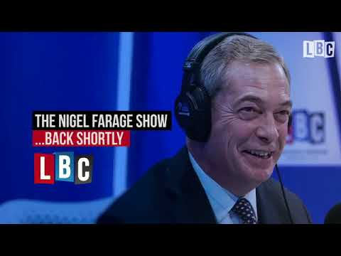 Nigel Farage's LBC Show   The President Trump Re Tweet Controversy