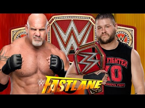 Thumbnail: Goldberg vs Kevin Owens for Championship