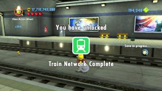 Lego City Undercover (wii U) ~ Collectables Guide - Auburn (part 3/5)