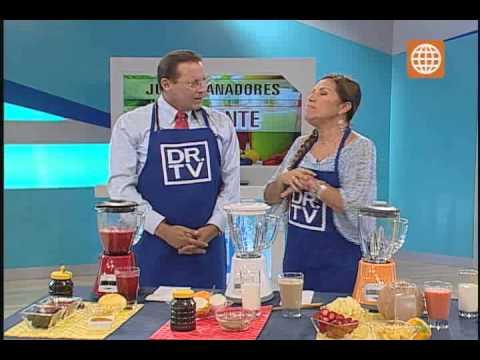 Doctor Tv - Jugos de fruta sanadora - (3-4-13)