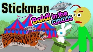 Stickman mentalist. School evil. Hike to the circus with Baldy