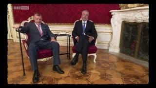 Fernsehgschichten mit Norbert Hofer und Alexander Van der Bellen