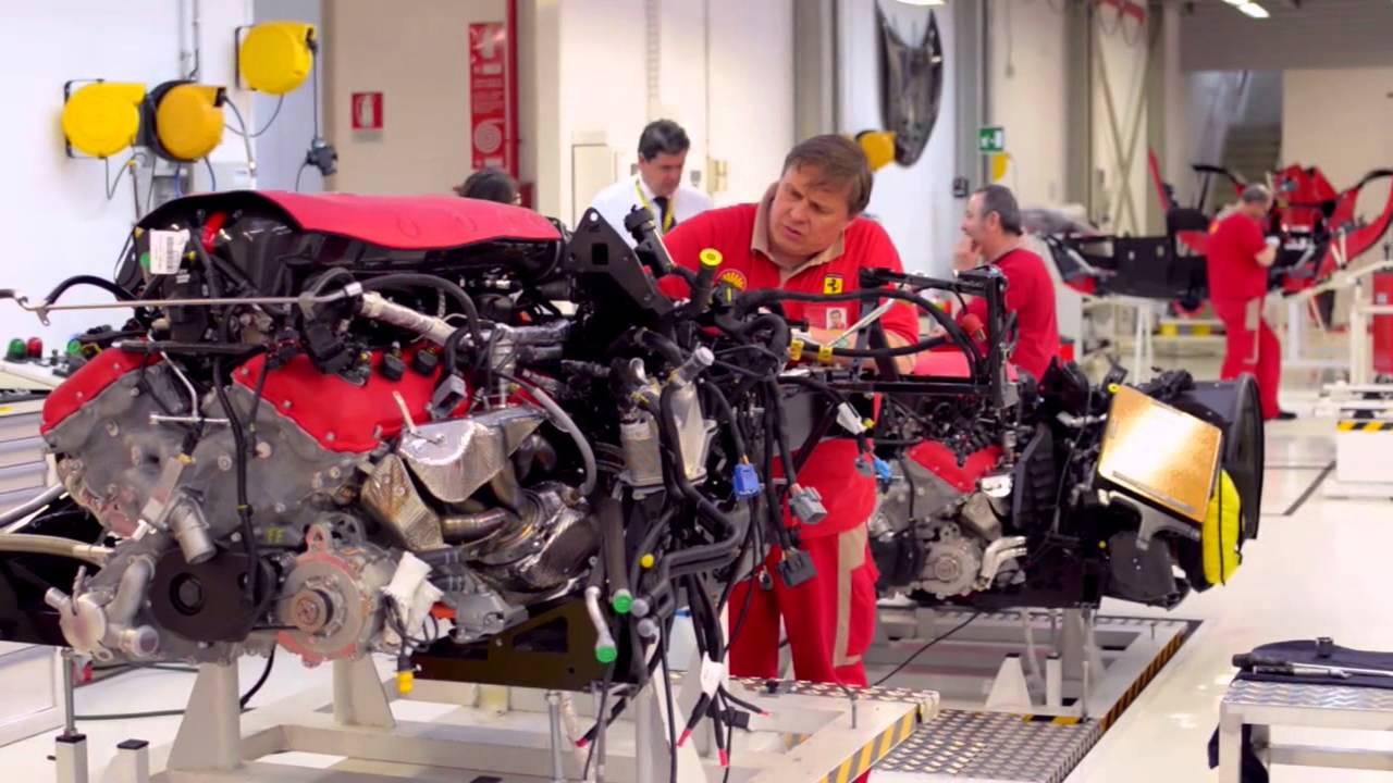 Ferrari LaFerrari factory - YouTube