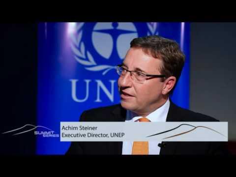 SUMMIT SERIES_ Interview with Achim Steiner, Executive Director,UNEP