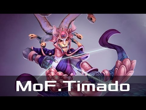 MoF.Timado — Medusa, Safe Lane (Nov 5, 2017) | Dota 2 patch 7.07 gameplay