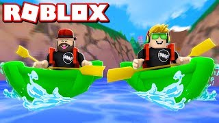 Going ON AN EPIC ADVENTURE in ROBLOX BACKPACKING