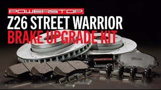 homepage tile video photo for Z26 Street Warrior Upgrade Brake Kit | PowerStop