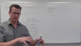 Long Division of Polynomials (TTP Video 78)